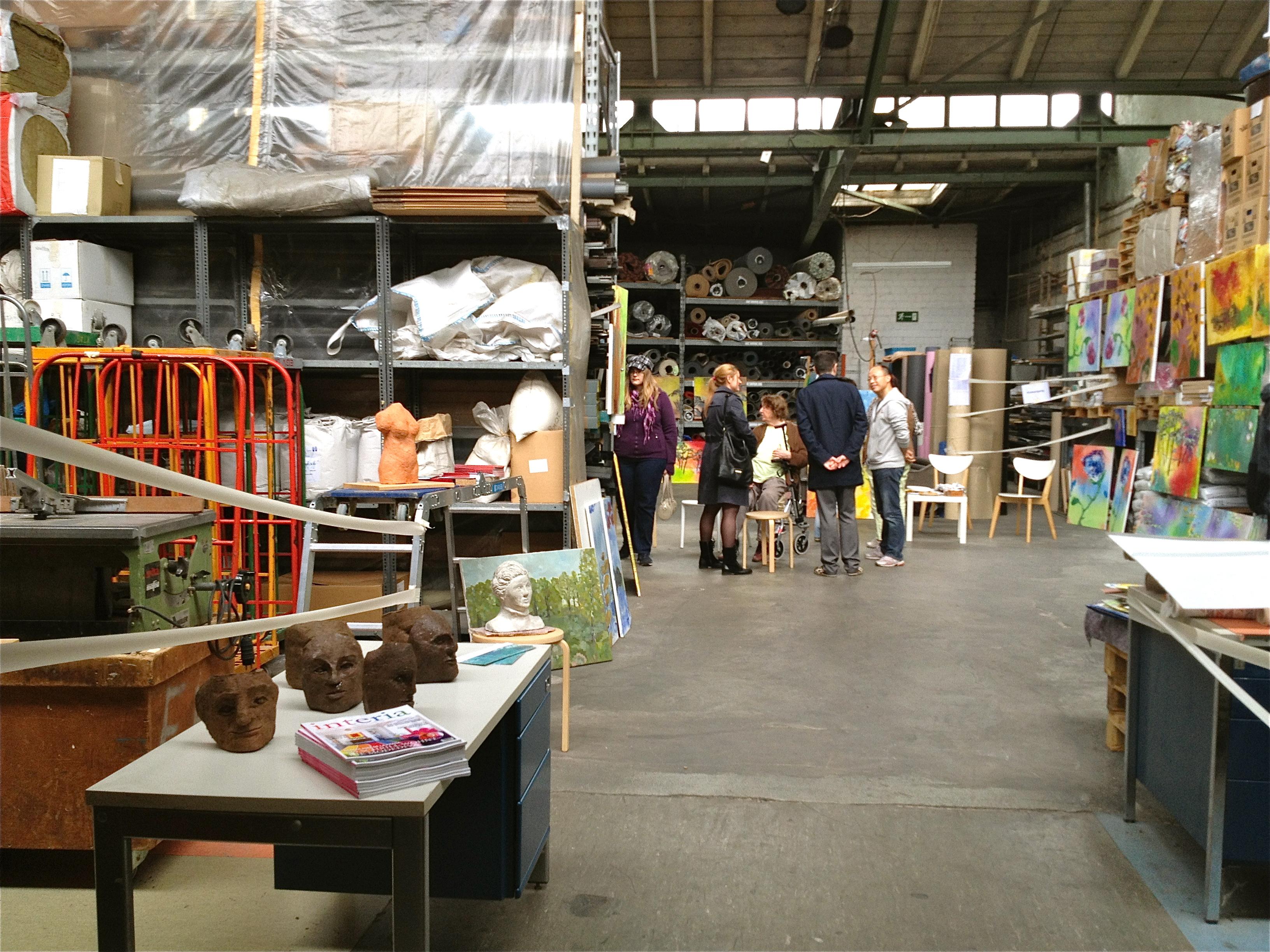 Kunstpunkte offene ateliers in d sseldorf genussgier for Raumgestaltung von hoegen