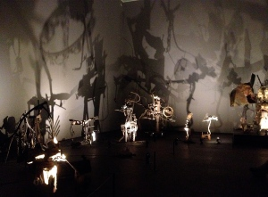Düsseldorf Kunstpalast Jean Tinguely. Super Meta Maxi Mengele Totentanz
